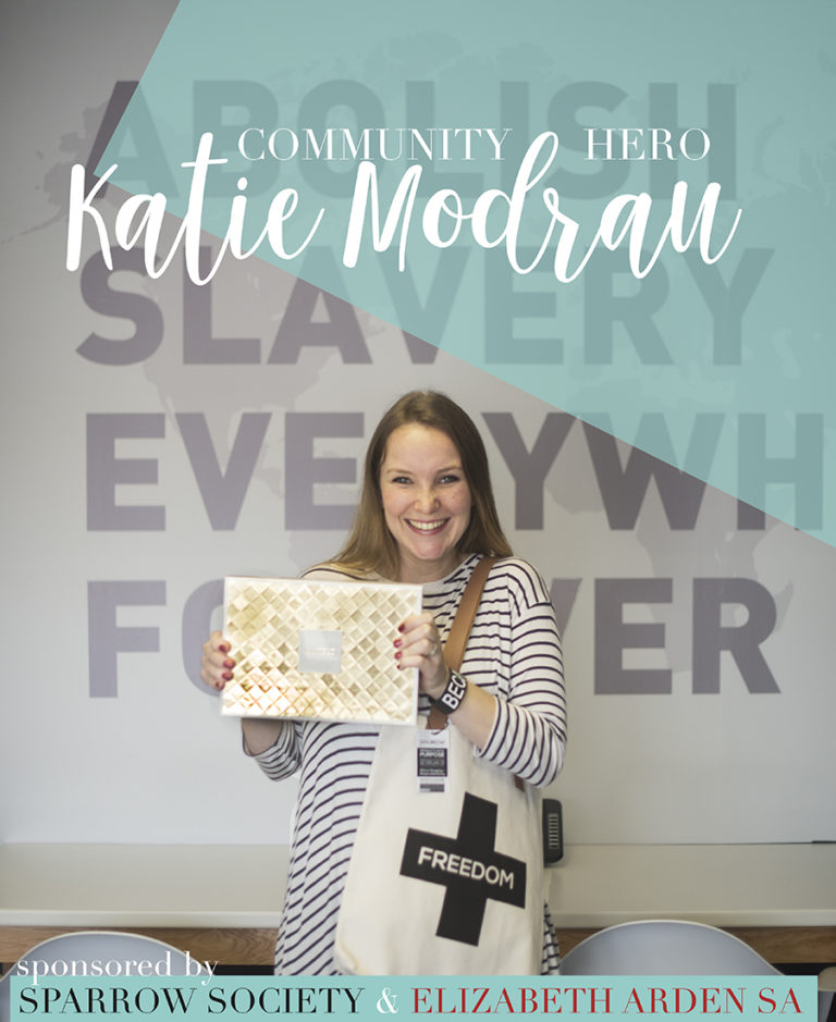 Katie Modrau - our September Month Community Hero!