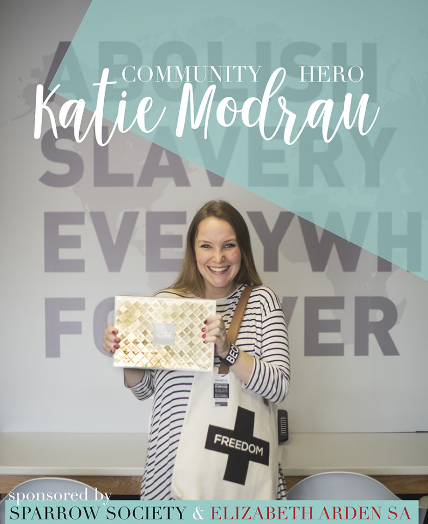 Katie Modrau – our September Month Community Hero!