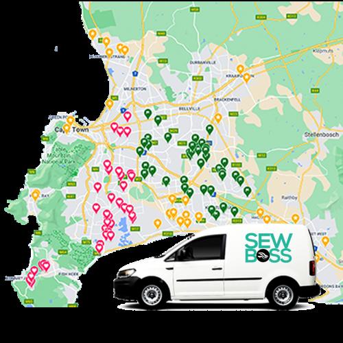 sewboss map